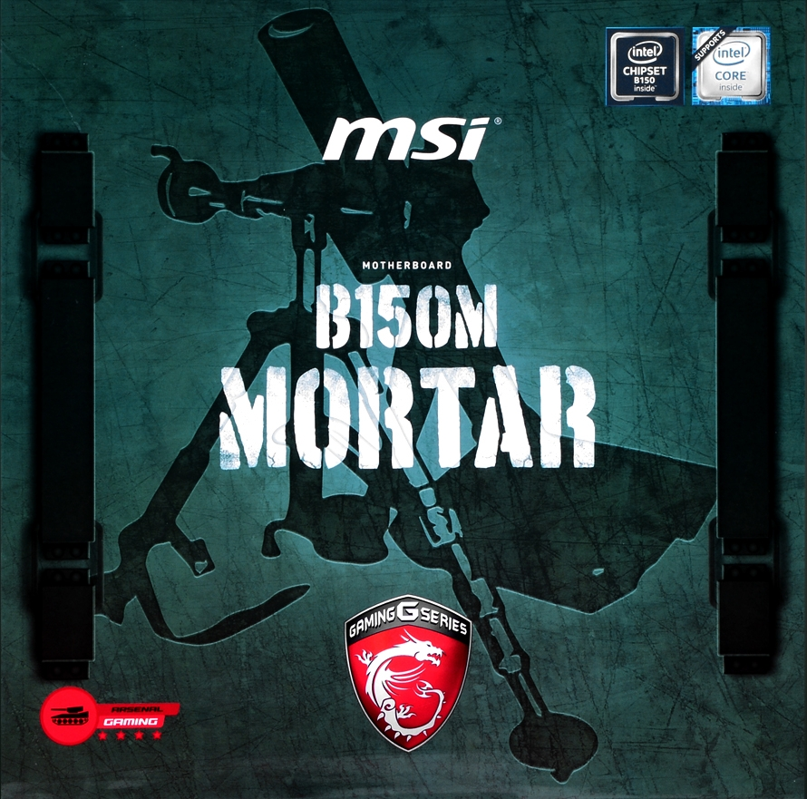 MSI MOTHERBOARD B150M MORTAR