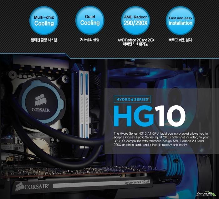 CORSAIR Hydro Series HG10 A1 Edition