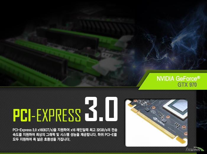 inno3D iChiLL 지포스 GTX970 D5 4GB X4 Air Boss Ultra 기술정보