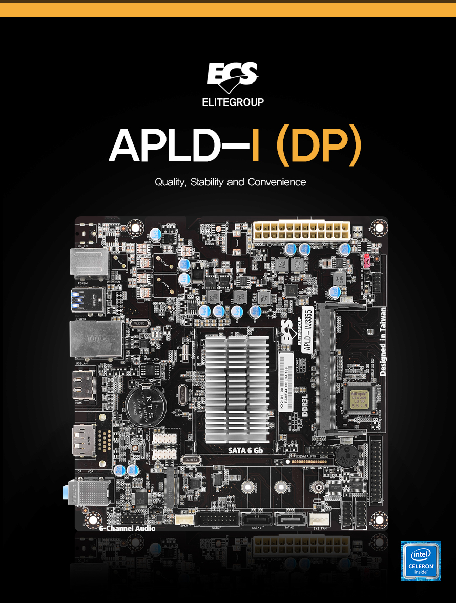 APLD I J3355 DP             QUALITY STABILITY AND CONVENIENCE