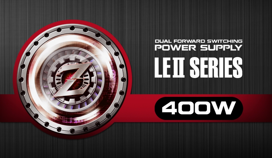 DUAL FORWARD SWITCHING POWER SUPPLY LE2 SERIES 400W