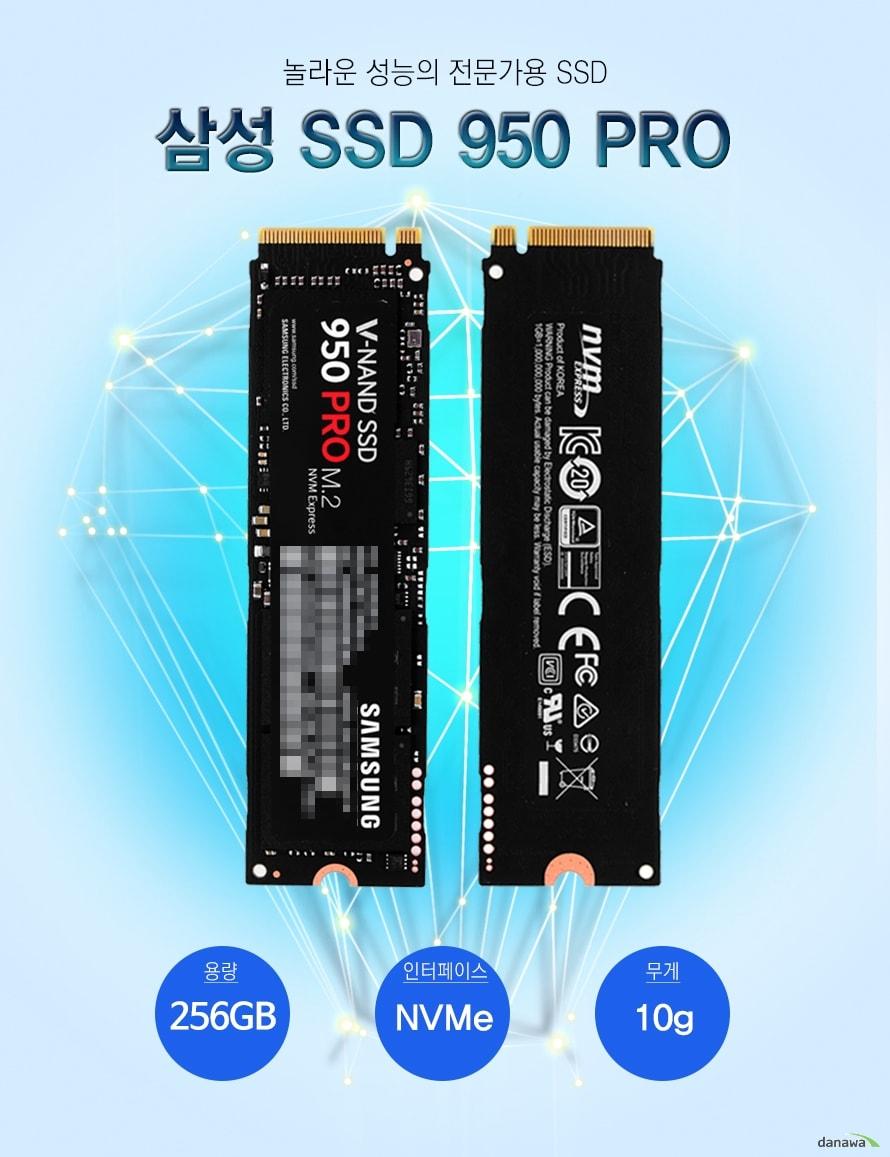 Samsung SSD 950 PRO M.2 256GB