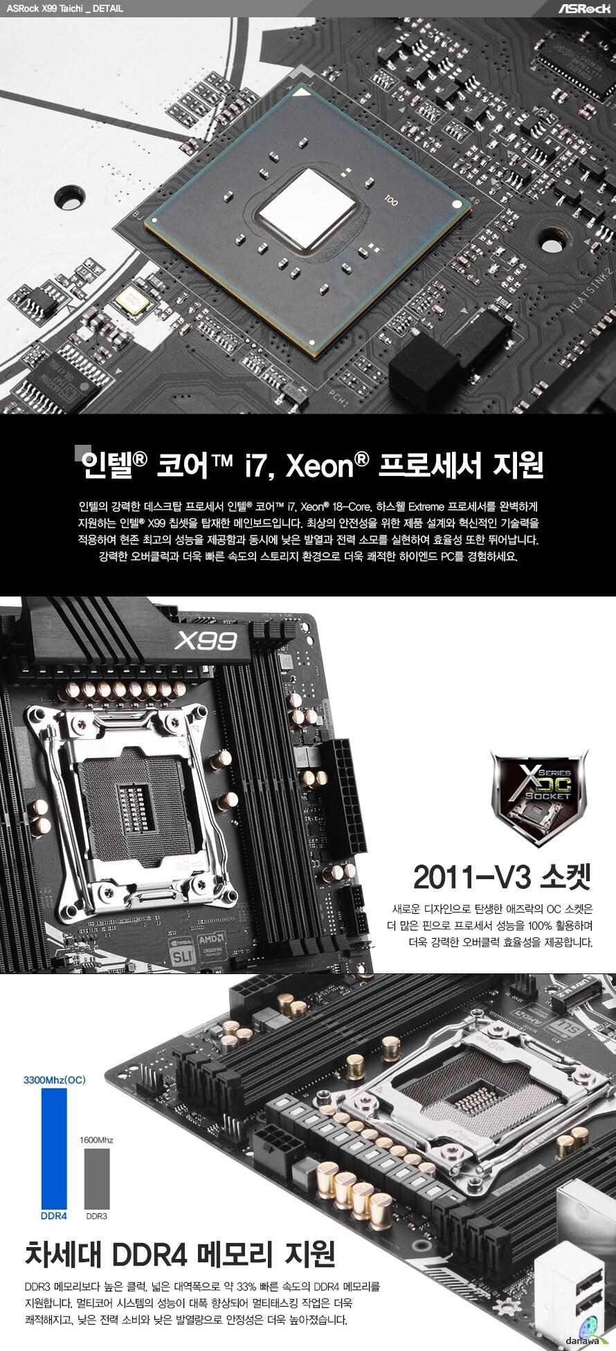 인텔 코어 i7 익스트림, 제온 프로세서 지원