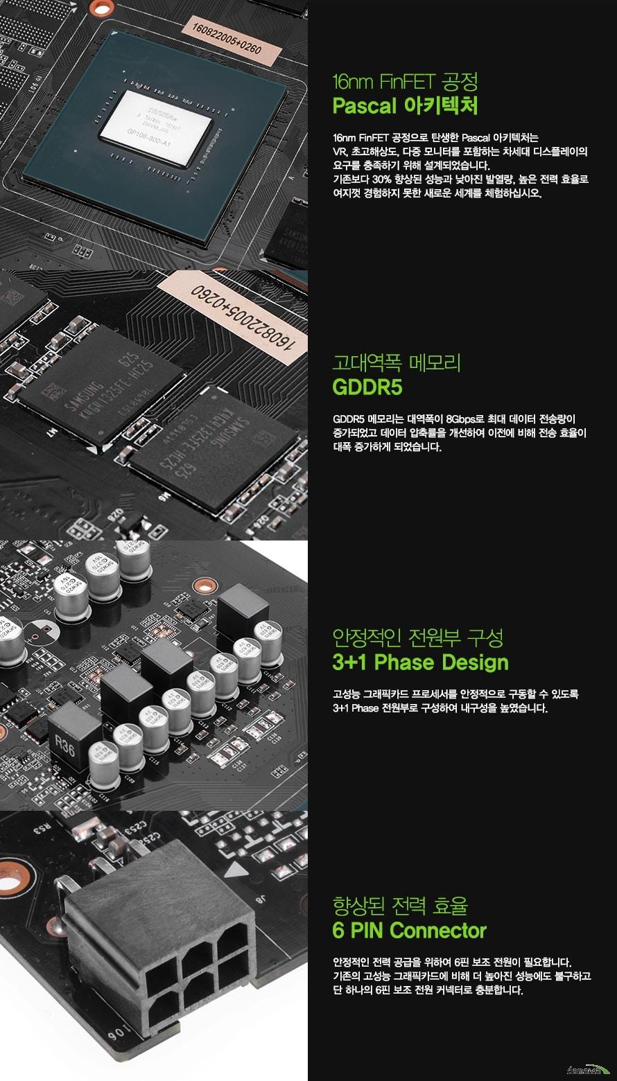 GAINWARD 지포스 GTX1060 D5 6GB Gamer's Spirit 디앤디컴