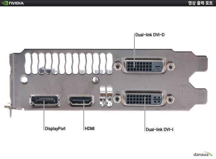 이엠텍 지포스 GTX 780Ti D5 3GB 단자