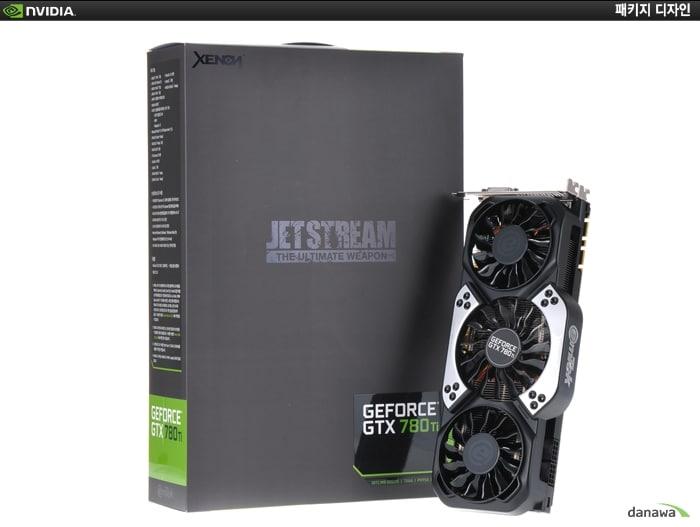 XENON 지포스 GTX780 Ti JETSTREAM D5 3GB 박스 이미지