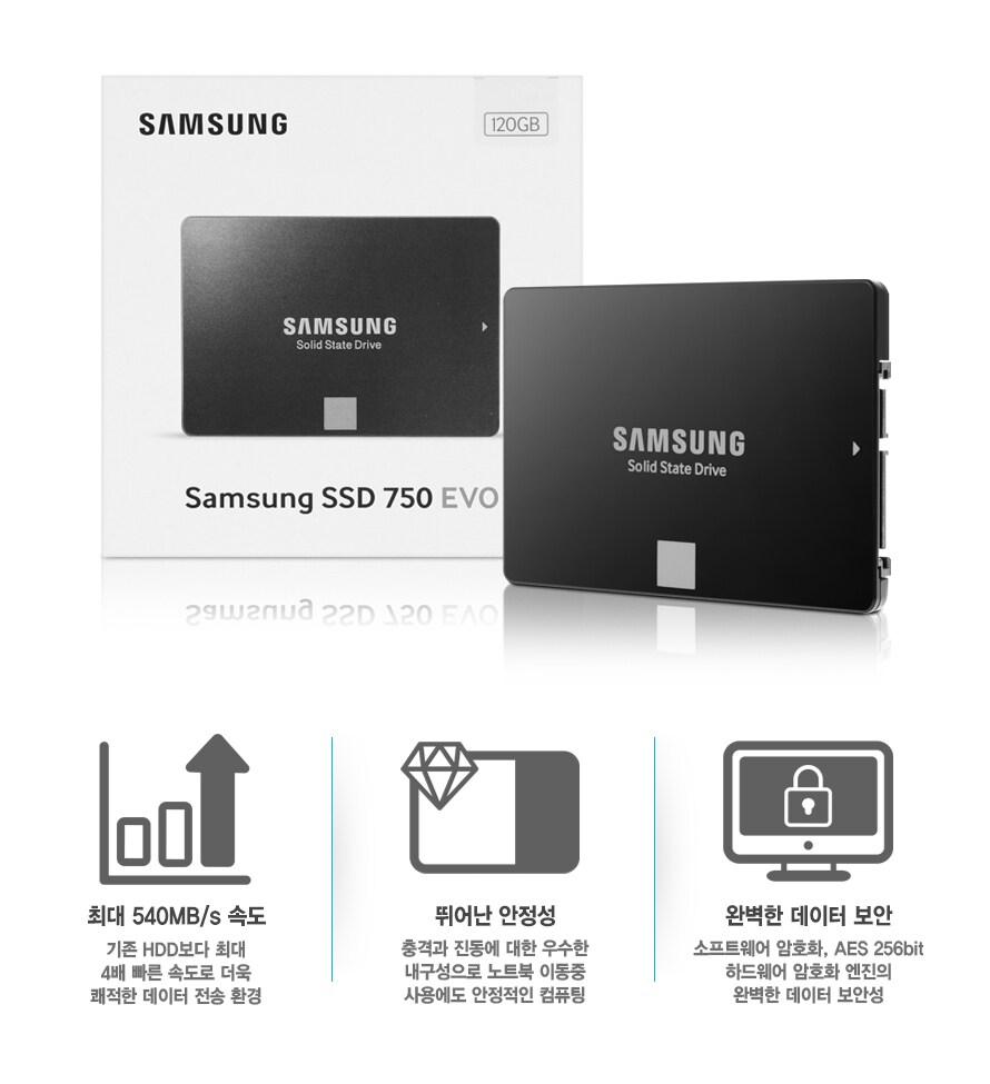 삼성전자 SSD 750 EVO
