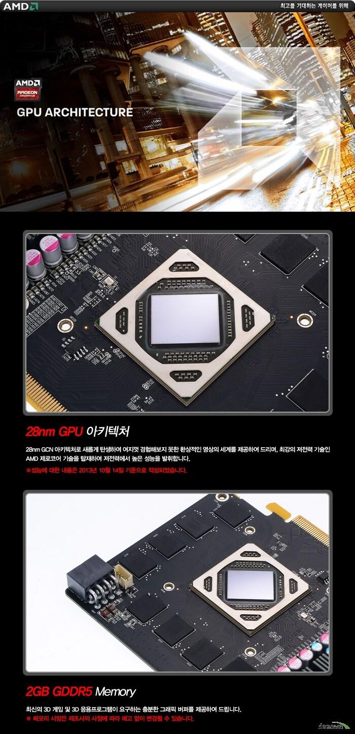 SAPPHIRE 라데온 R9 285 ITX Compact OC Edition D5 2GB의 기술정보