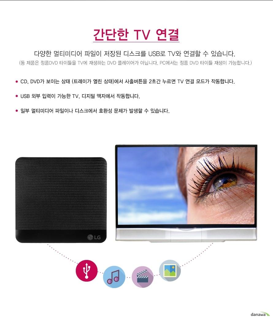 스마트한 TV 연결 가능